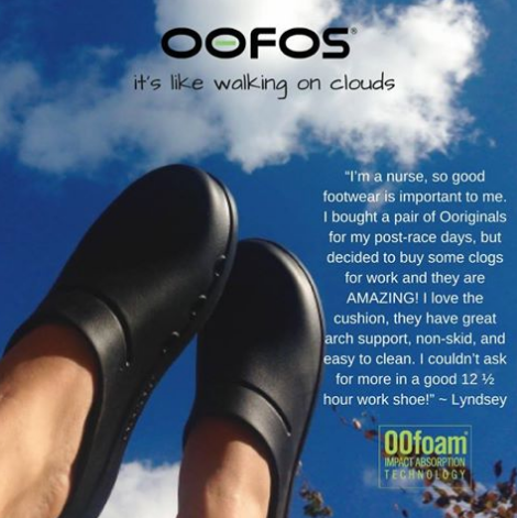 Oofos clogs dealer Canada wide shipping. Orthotic, recovery sandal, shoe, nurses, workwear, covered toe footwear, 604 682 4422