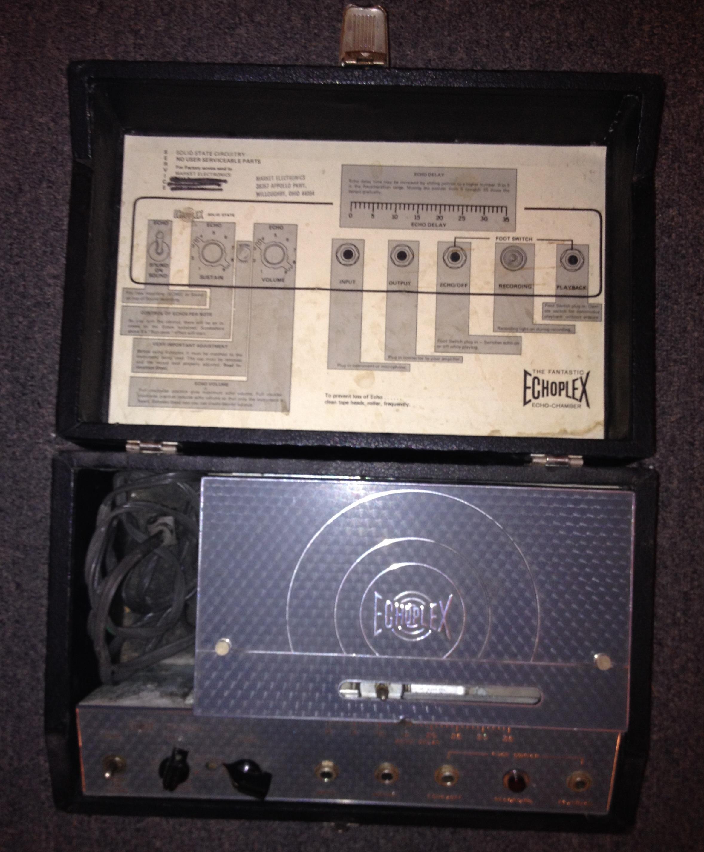 Vintage 70's Echoplex