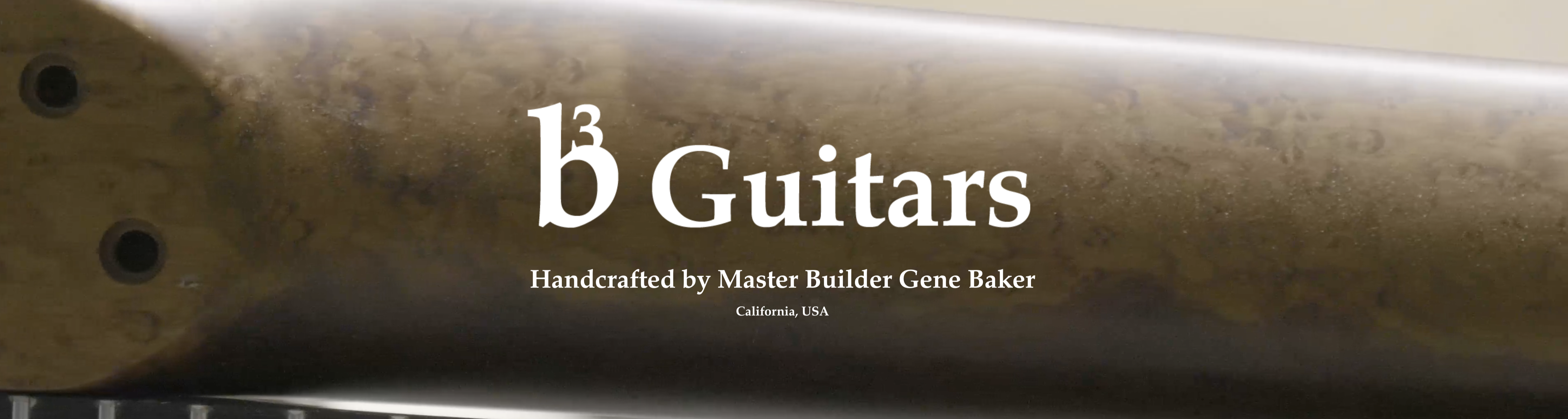 b3 Guitars by Gene Baker Dealer Canada