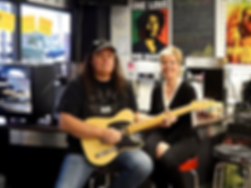 Marley Coffee Bar Vancouver Canada Trip Advisor Best Westcoast Guitars Glen Shannon