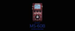 Zoom MultiStomp Bass MS-60B