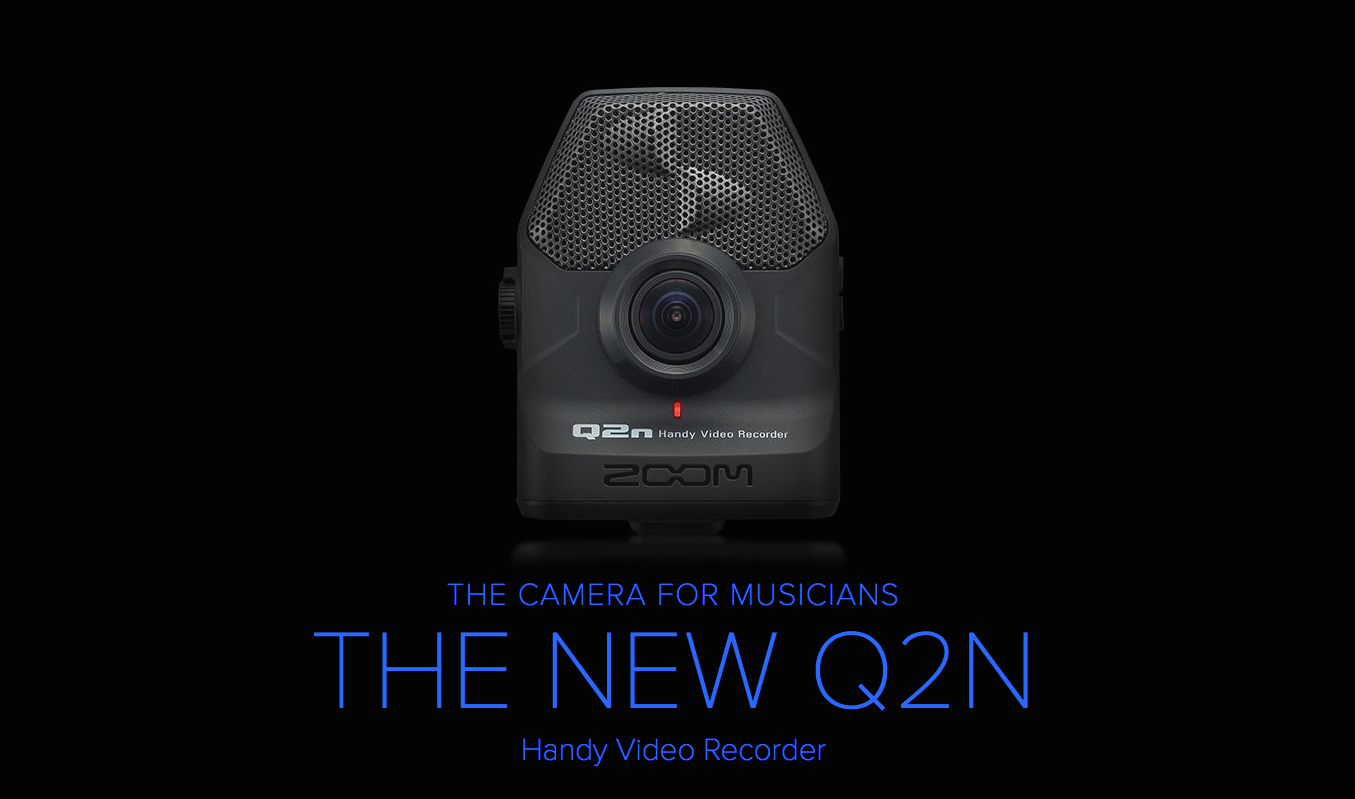 New Zoom Q2N Handy Video Recorder