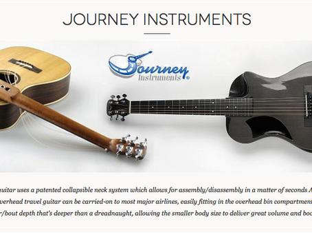 Journey Instruments Collapsible Travel Guitars Dealer Canada