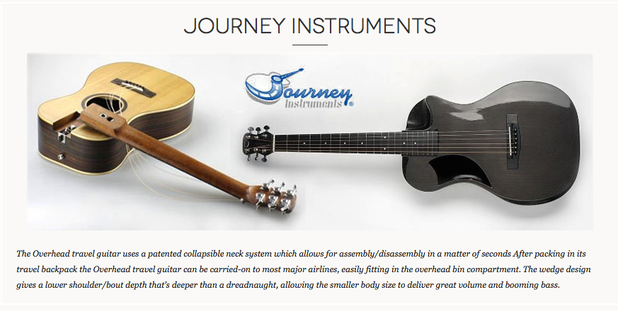 journey, travel, guitar, collapsible, carbon, wood, dealer, best, canada,
