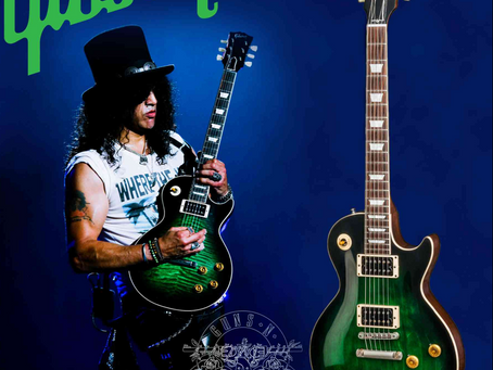Slash Anaconda Limited Edition Les Paul From Westcoast Guitars