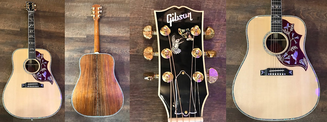 Gibson Hummingbird Custom JUST IN !