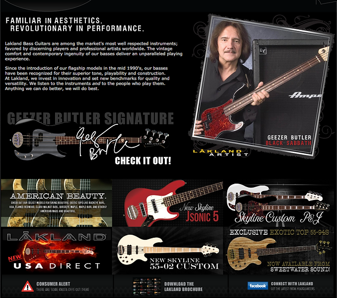 Lakland Bass Guitars Dealer Canada.png