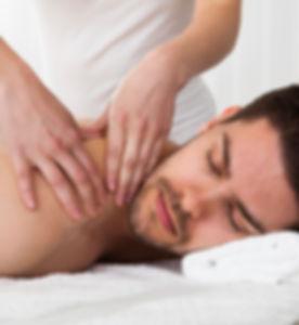 Man Back Massage