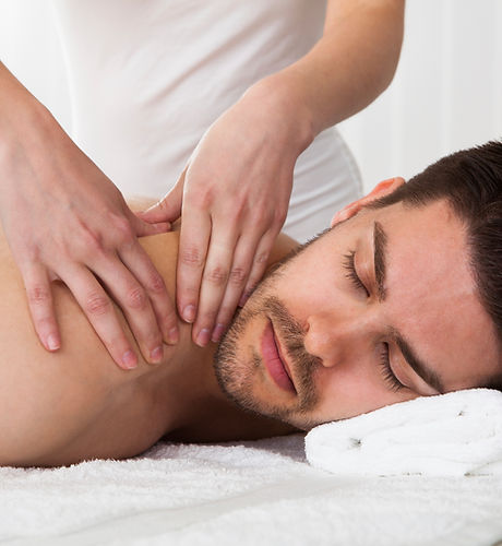 Man Back Massage