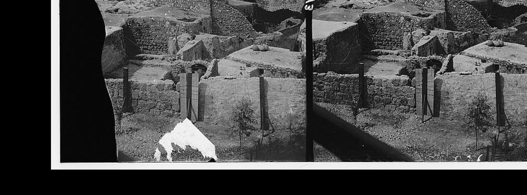 מראה כללי של לוד העתיקה- מקור- ספריית הק