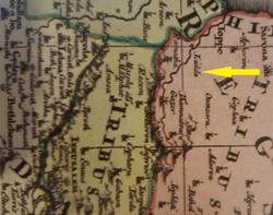 Regio Canaan seu Terra Promissionis - Au