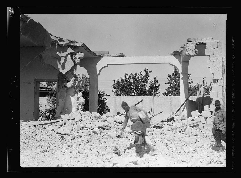 Demolition at lydda