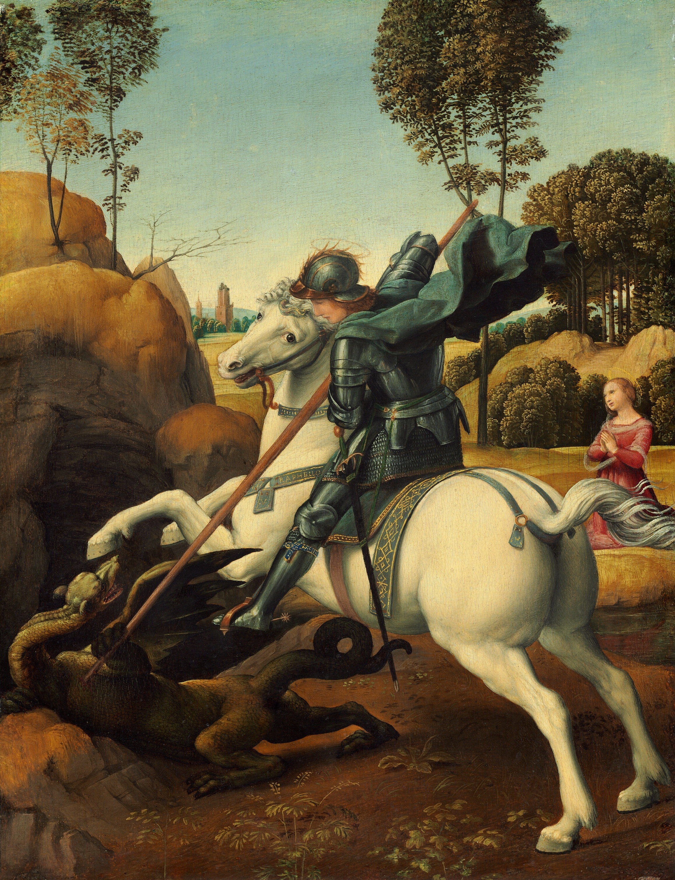 St_George_by_Raphael