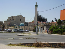 St._George_Church_and_the_great_Mosque_in_Lod