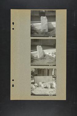 צילום סרקופג וכותרות יווניות, אולי ליד ה