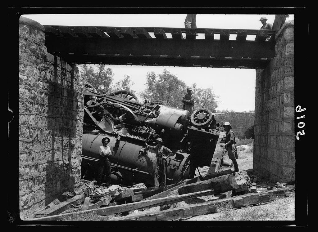 paelstiniean disturbances 1936