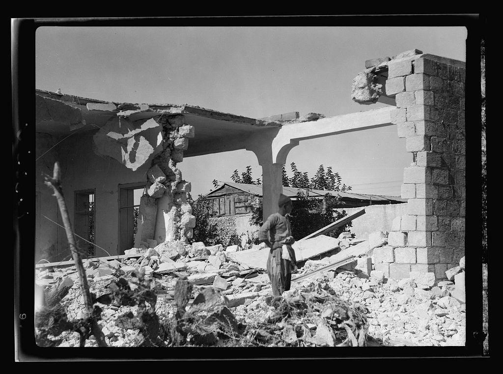 Demolition at lydda (2)
