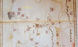 Gabriele Capodilista Map of Palestine 14