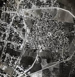 תצלום אוויר של לוד, 1936