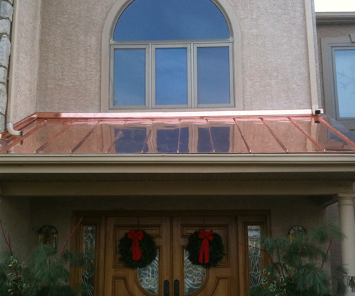 Copper Roofing 1