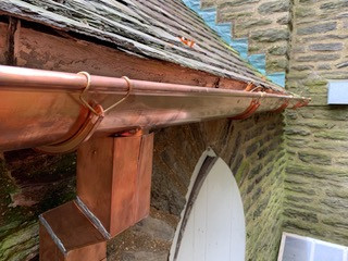 Copper Roofing 11