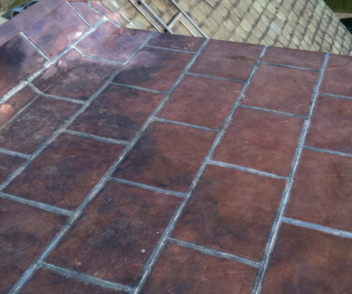 Copper Roofing 3