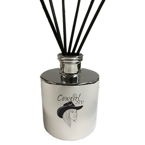 Reed Diffuser in Silver Container