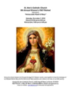 Immaculate Heart of Mary 2019 Second wit