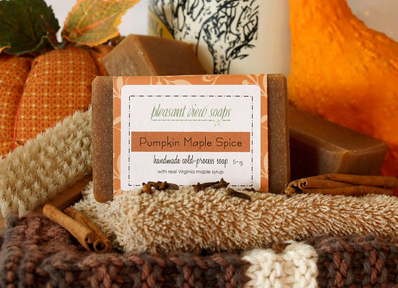 { Pumpkin Maple Spice Milk Soap }