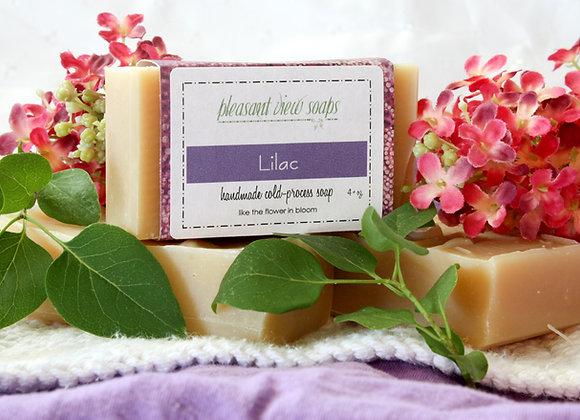 { Lilac Goat's Milk Soap }