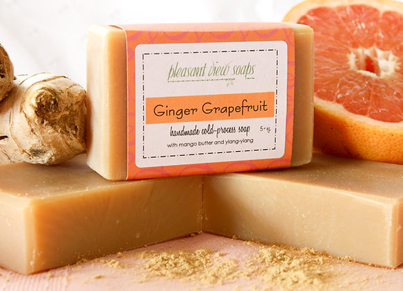 { Ginger Grapefruit Milk Soap }