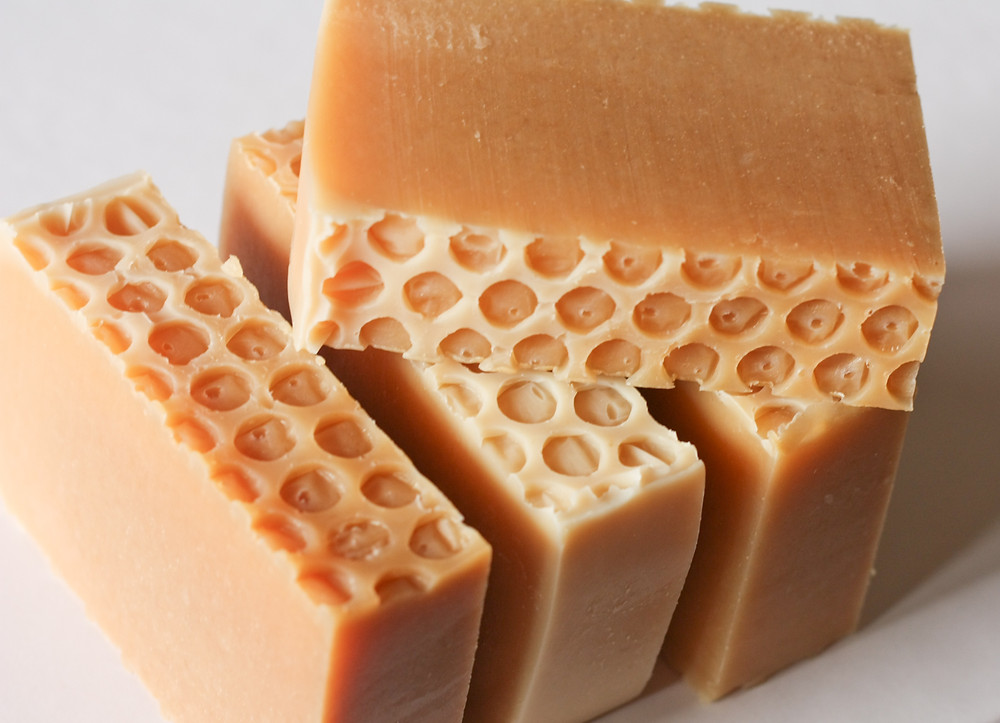 Beeswax Honeycomb soap