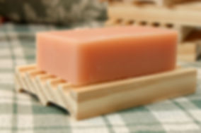 Wooden soap dish Pleasant View Soaps