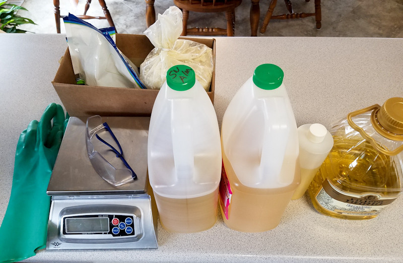 soapmaking class supplies