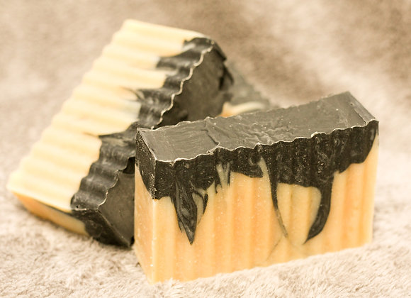 { Sandalwood +Vetiver  Goat's Milk Soap }