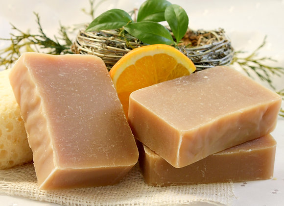 Citrus Patchouli Goat's Milk Soap