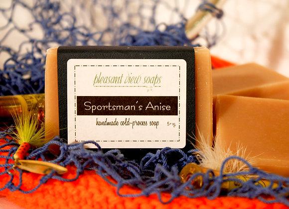 [ Sportsman's Anise Milk Soap ]