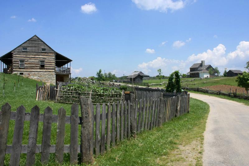 Staunton Virginia Frontier Culture Museum