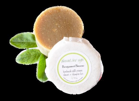 Bergamot Breeze Shampoo Soap