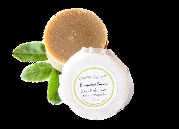 {  Bergamot Breeze Shampoo Soap }