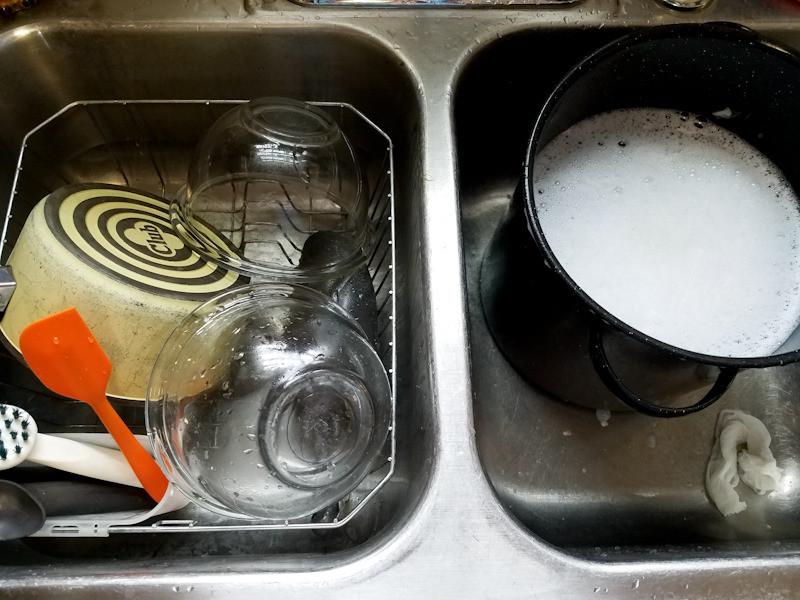soapmaking dishes