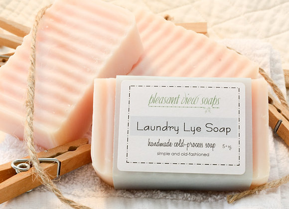 Laundry Lye Soap