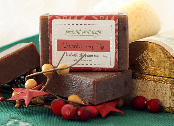 { Cranberry Fig Milk Soap }