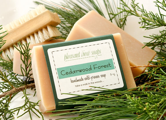 { Cedarwood Forest Milk Soap }