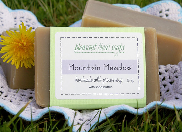 { Mountain Meadow Goat's Milk Soap }