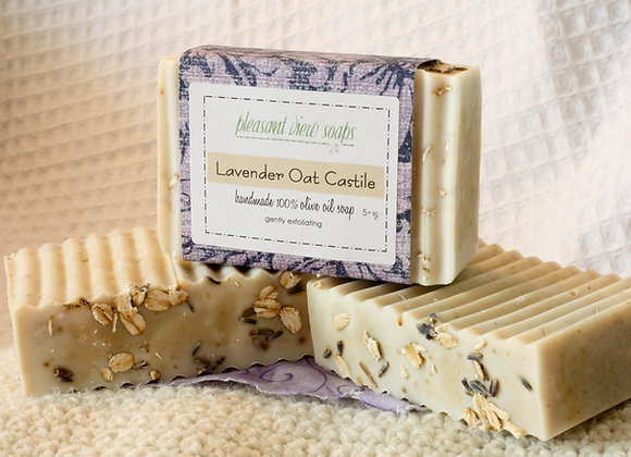 Lavender Oat Castile Soap - seconds