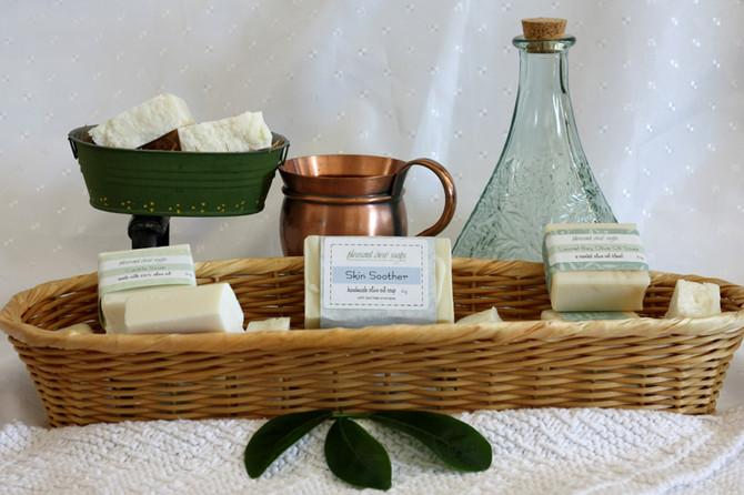 New: Olive Oil soaps