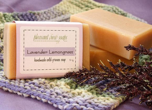 Lavender Lemongrass Goat's Milk Soap