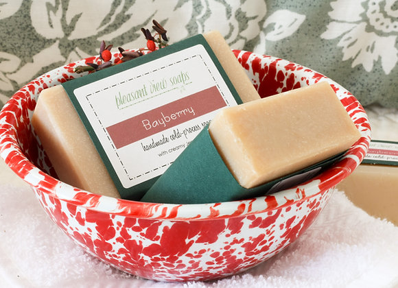 { Bayberry Goat's Milk Soap }