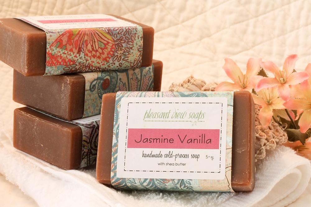 Jasmine Vanilla soap